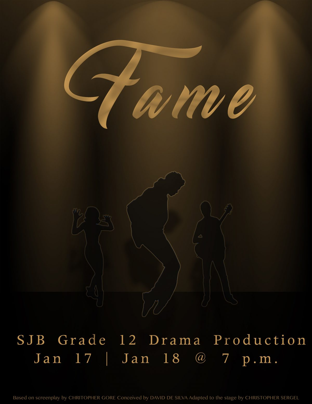 """Drama Class to perform the play """"Fame"""""""