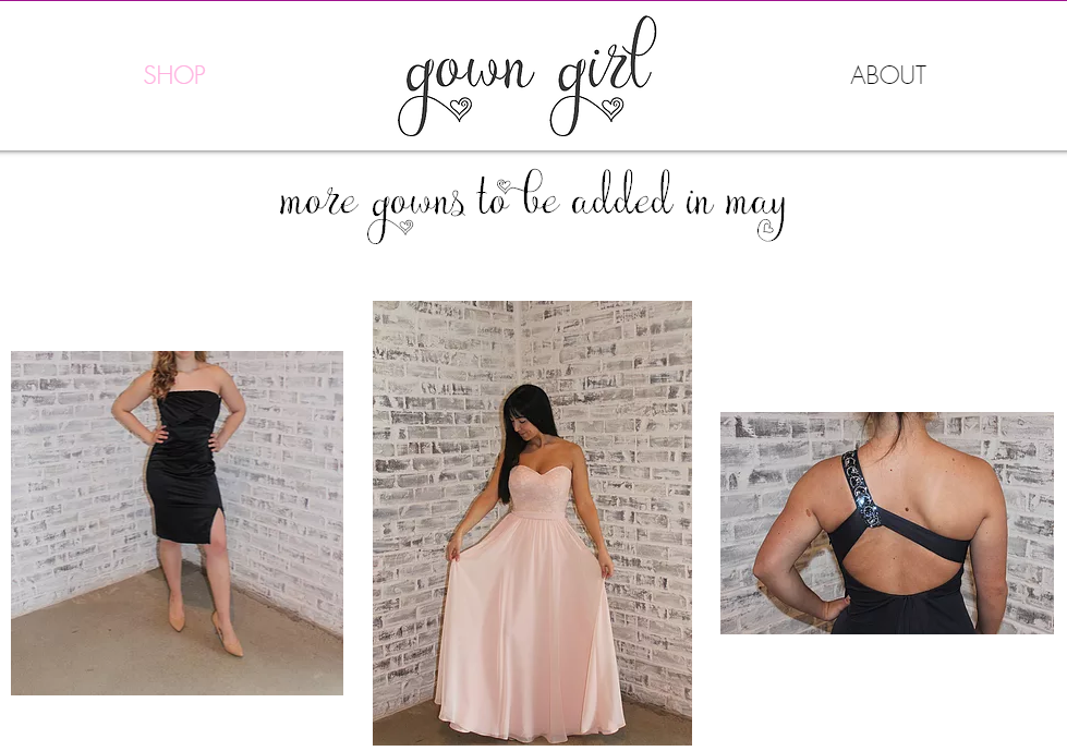 """Prom Dresses from """"Gown Girl"""""""