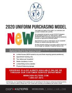 2020 Uniform Purchasing Model
